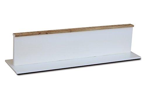 Wandrek die orde schept 120 cm 'Nizza' mango wit natuur