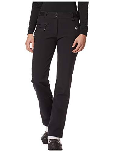 Ultrasport Advanced Tilda Pantalon de Ski Femme, Noir, Large