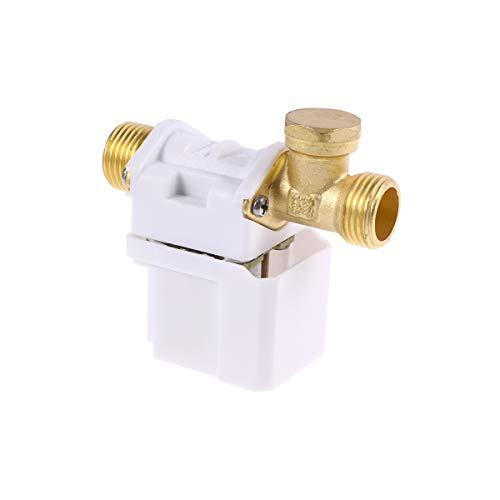 UEETEK 1/2 Zoll 12V Elektro Magnetventil für Wasser