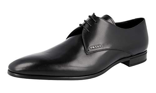 Prada Herren Schwarz Leder Business Schuhe 2E2701 6FM F0002 45.5 EU/UK 11.5