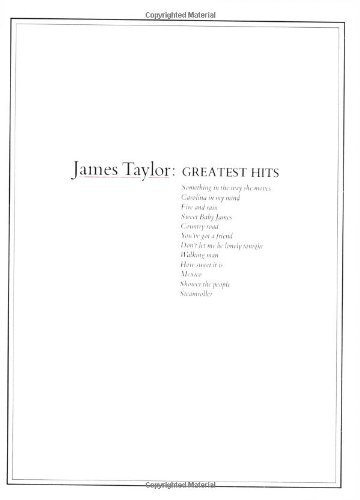 James Taylor Greatest Hits (English Edition)