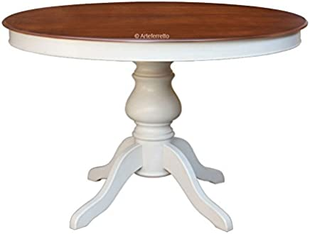 Table Ronde Cuisine Pied Central.Amazon Fr Table Ronde Avec Pied Central Cuisine Maison