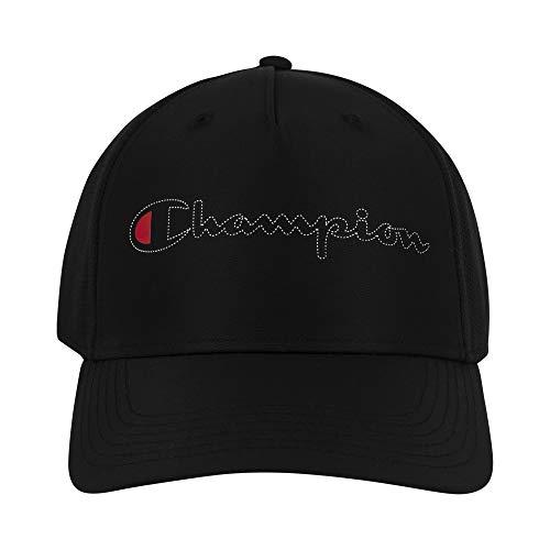 Champion Herren Funktionskappe Performance verstellbar, Herren, Baseball Cap, Function Performance Adjustable Cap, schwarz, Einheitsgröße