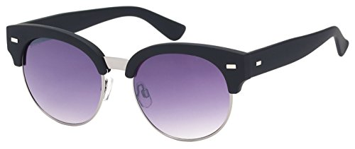 SQUAD- Gafas de sol AS61135 (C1) Gafas de sol medio marco clásico Hombre y Mujer