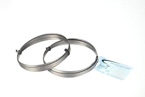 2er SET Sägeband Bi-Metall M 42 Abmessung 1435x13x0,65 mm 8/12 ZpZ z.B. für Güde MBS 125 V Bandsägeblatt
