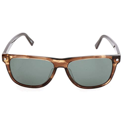 Ermenegildo Zegna Sonnenbrille EZ0074-F Gafas de sol, Marrón (Braun), 57.0 para Hombre