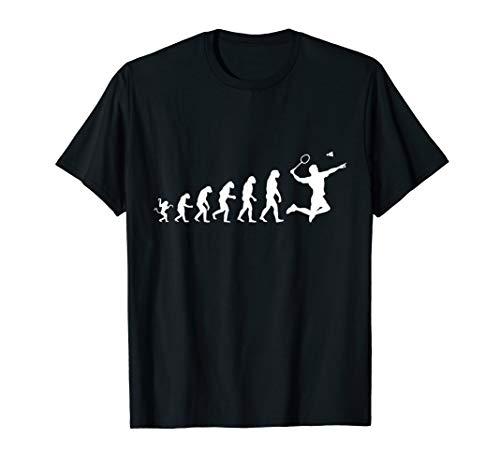 Badminton für die menschliche Evolution T-Shirt