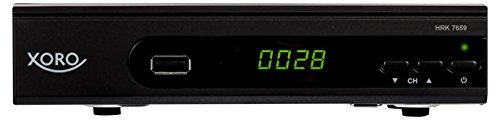 Xoro HRK 7659 HDReceiverfürdigitalesKabelfernsehen(HDMI, SCART, USB 2.0, LAN) schwarz