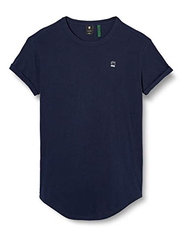 G-STAR RAW Mens Duct Relaxed Short Sleeve T-Shirt, Sartho Blue, L