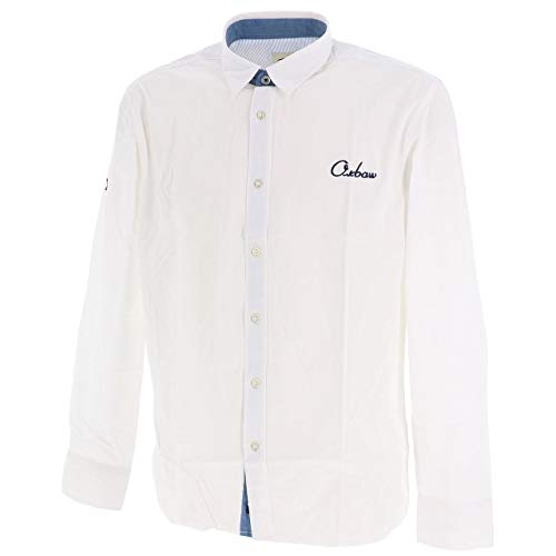 Oxbow M2CAVIRO Chemise Homme Blanc FR : S (Taille Fabricant : S)
