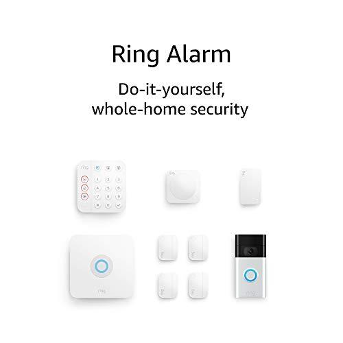 Ring Alarm 8-piece kit (2nd Gen) with Ring Video Doorbell (2nd Gen)