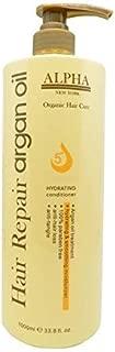 Moroccan Argan Oil original Hydrating Conditioner Repair Organic Hair Care By Alpha New York 33.8 FL.OZ