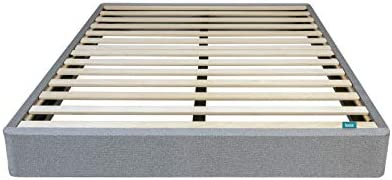 Leesa Queen Size Bed Mattress Foundation Gray product image