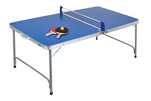 Idena 40464 Table de ping-Pong compacte Pliable...