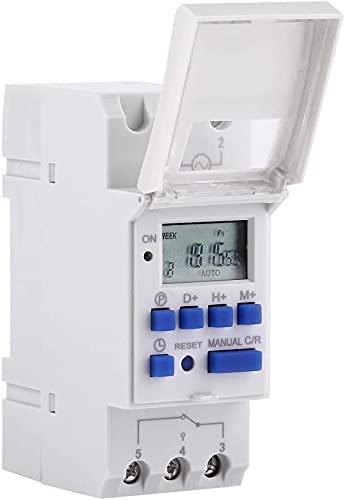 Temporizador digital programable, interruptor diario Astro digital tipo 220 V AHC15A temporizador eléctrico