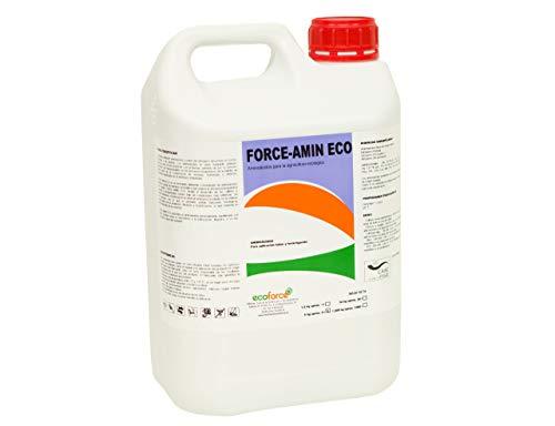 CULTIVERS Force-Amin Eco de 5 l. Abono - Fertilizante de Aminoácidos Vegetales Potencia el Crecimiento de tu Plantas en Exterior e Interior. Aumenta la productividad