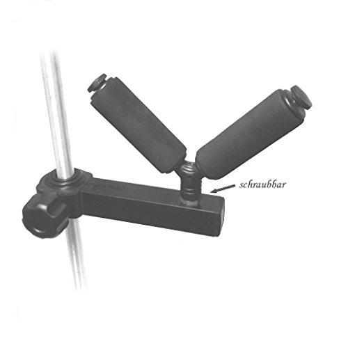V-Abroller Uni mit Arm für Sitzkiepen Plattformen usw / Abroller Rutenhalter 80mm