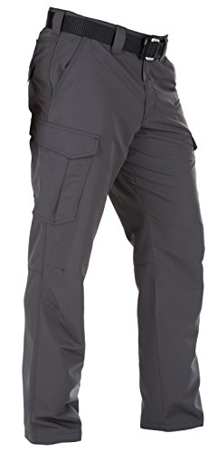 5.11 Tactical Men's Fast Tac Cargo Pant, Style 74439, Charcoal, 36W x 30L