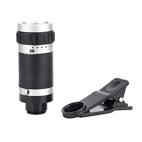 Alomejor monokulartelescoop 8 x 18 Mini mobiele telefoon telescoop voor conferentieconcert op afstand