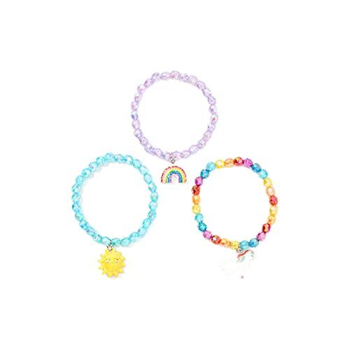 Claire's Club Magical Sunshine Beaded Stretch Bracelets,...