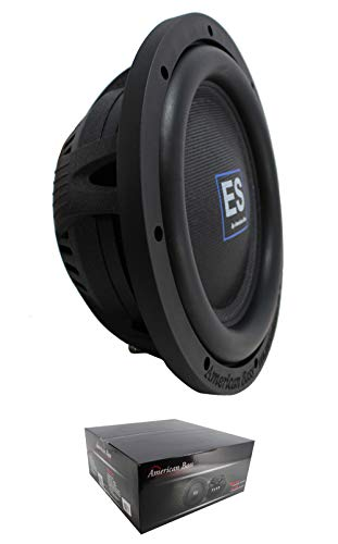 "10"" Slim Subwoofer 4 Ohm DVC 1000W Pro Car Audio Bass American Bass ES-1044"