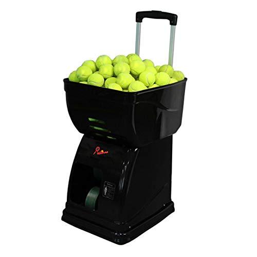 Powershot 1 - Tennis Ballwürfmaschine mit Fernbedienung und Externe Batterie