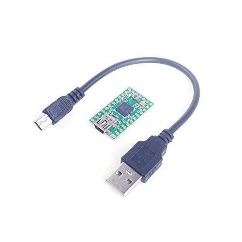 ANGEEK Teensy 2.0 USB AVR Development Board ISP U Disk Keyboard Mouse Experimental Board for Arduino