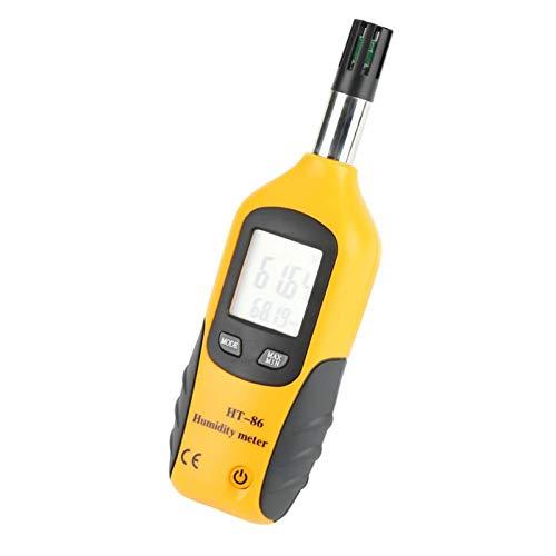 Termómetro infrarrojo Herramienta de medición de temperatura Termómetro IR Higrómetro de temperatura de punto de rocío Termómetro digital de bulbo húmedo para cocinar para hornear alimentos