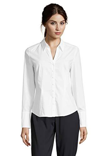 Betty Barclay Damen Regular Fit Bluse 3887/9555, Weiß (Bright White 1000), Gr. 44 (Herstellergröße: 18)