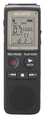 Sony ICD-PX820D 2 GB Digital Diktiergerät mit Spracherkennungssoftware schwarz