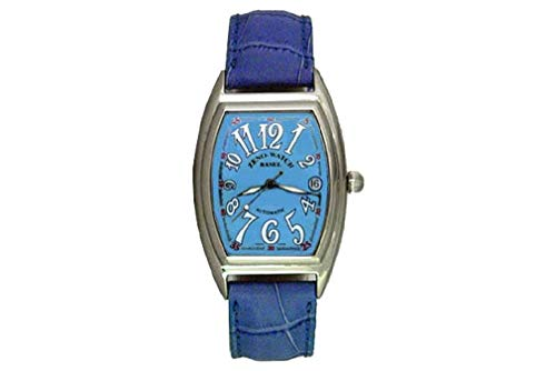 Zeno-Watch Orologio Donna - Tonneau Retro Automatico - 8081-h4