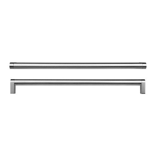 Ikea ORRNÄS Möbel Griffe aus Edelstahl; (330mm); 2 Stück