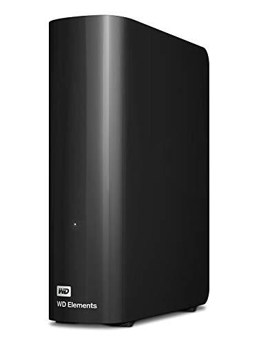 WD Elements Desktop - Disco duro externo de sobremesa de 8 TB, color negro