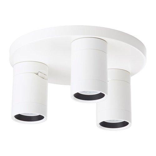 Ikea Deckenstrahler 3-flammig weiß 2028.172923.3014