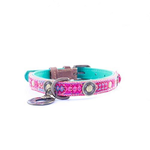 Dog with a Mission DWAM Halsband Boho Rosa - XS (2 cm)