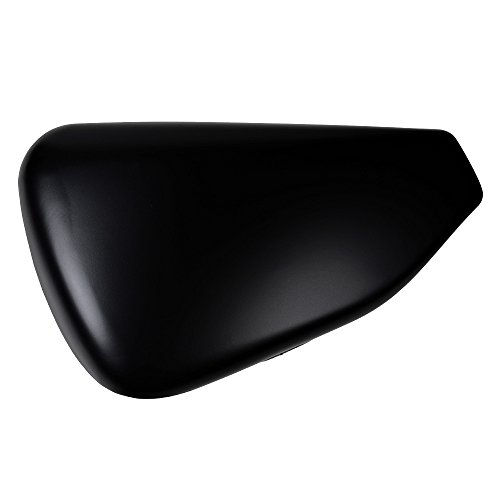 Matte Black Left Side Battery Cover Fit 14 15 16 17 18 19 Harley Sportster 1200 883 Seventy Two Forty Eight