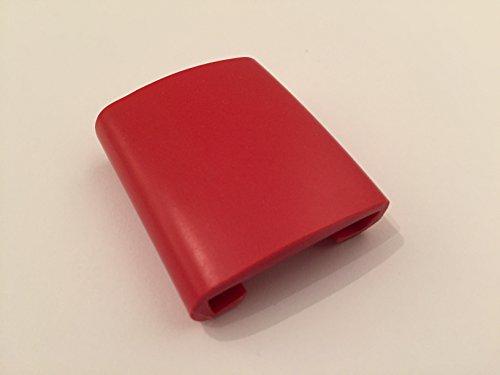 1m PVC Kunststoffhandlauf rot schwarz gold Handlauf Treppenhandlauf 30x8 mm Gummi Geländer (30 x 8, rot)