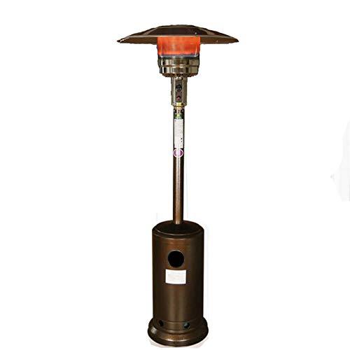 Paraguas de Gas del Calentador, del hogar Gas Natural Licuado Gas, 13000w al Aire Libre Calentador Vertical