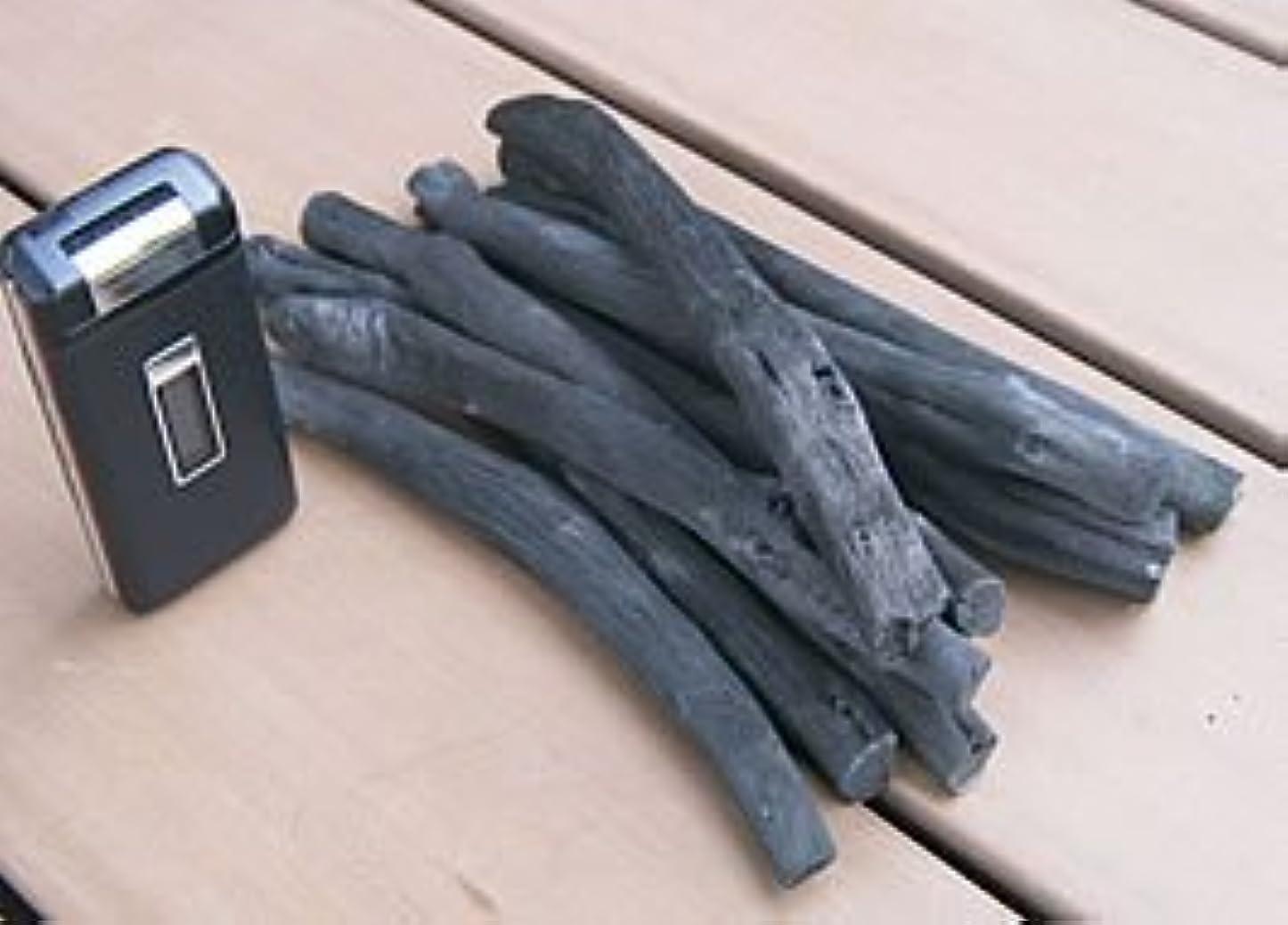 パースブラックボロウ蒸し器楽しませる紀州備長炭 小枝炭 10本セット 本場紀州産 最高級備長炭
