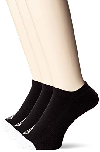 Volcom Men's Stone Ankle Socks Black 3 Pk