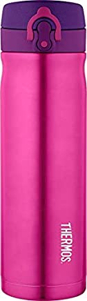 Thermos Stainless Steel Insulated Drink Bottle, 470ml, Pink, JMY5005PK4AUS