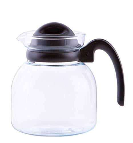 Glas Teekanne Mikrowellenkanne 1,85L