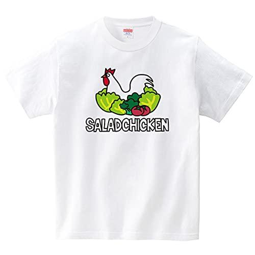 イタクシーズ Tシャツ [ サラダチキンTシャツ ] CHATON_CATON_T [メンズ] ホワイトMサイズ
