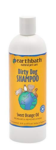 EARTHBATH Tiefenreinigungsshampoo für Haustiere, Orangenschalen, 472 ml, 1