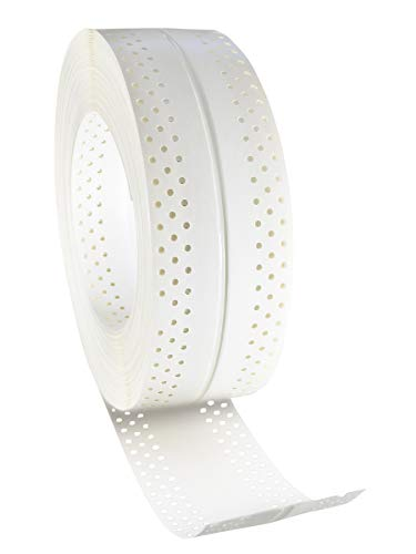 Rigips 5200684159 AquaBead Flex PRO Rolle 25lfm selbstklebender Kantenschutz, Weiß