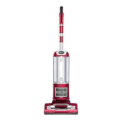 SharkNinja NV391 Lift Away Professional Bagless Upright Canister Vacuum, Red (Renewed)
