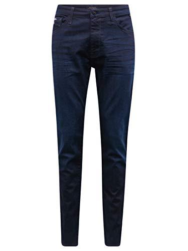 Mavi Herren Jeans Skinny Chris Dark Coated mavi Black 28 32