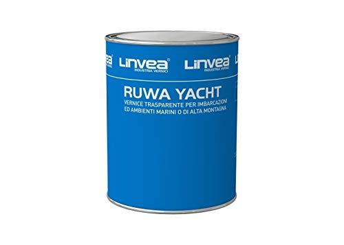 Ruwa Yacht VERNICE TRASPARENTE ALCHILICA ULTRA RESISTENTE 500 ml LINVEA BARCHE