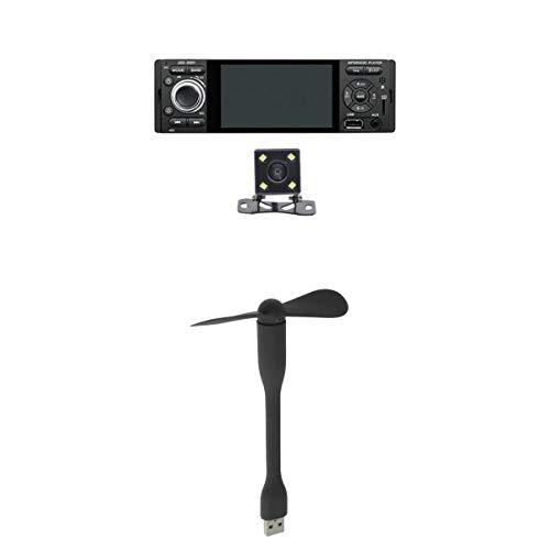 prasku Car Stereo Radio MP5 FM Player AUX Pantalla Táctil + Cámara de Visión Trasera 4LED