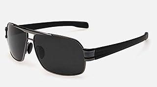 Retro UV400 Unisex Sunglasses Polarized Sun Glasses with Carrying Box
